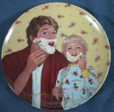 Little Shaver A Father's Love Collector Plate Betsy Bradley Coa Vintage