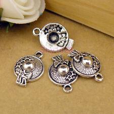 12Pcs Tibetan Silver Star Hat Charms Pendants 13.5x19mm LA135