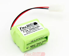 Nickel Metal-Hydride(Ni-MH) 7.2V 2000mAh Rechargeable Battery w/Tamiya AA_6SX