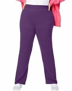 Just My Size Fleece Sweatpants Average Length Women's ComfortSoft EcoSmart 30.5