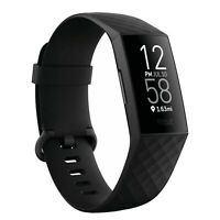 Fitbit Charge 4 Advanced Edition Fitness Tracker Activity Black Band Smart Watch