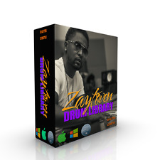 ZAYTOVEN DRUM LIBRARY + 808 BASS For KONTAKT WAV DRUMS REASON SOUNDS