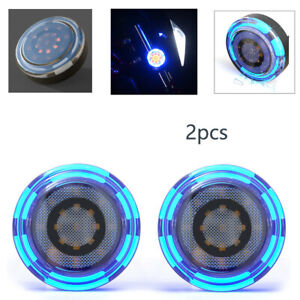 Motorcyle DC 12V Auxiliary Light Highlights LED Turn Signal Light Univeral