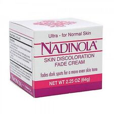 NADINOLA SKIN DISCOLORATION FADE CREAM FOR NORMAL SKIN  2.25 OZ FadesDarkSpot