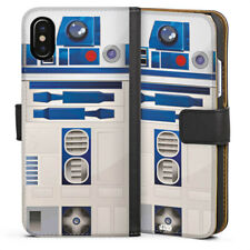 Apple iPhone X Tasche Hülle Flip Case - R2D2 Closeup