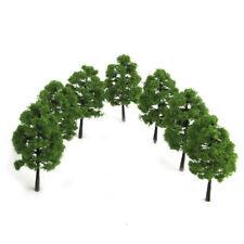 UK 20pcs HO OO Scale Model Tree Scenery Railroad Layout Green Tree Scene Xmas