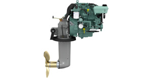 Genuine NEW Volvo Penta D1-30 D1 Complete Compact Engine With 130S Sail Drive