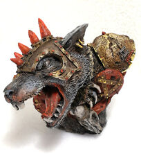 """WARHAMMER  FORGE WORLD OOP BUST """"SKAVEN WARBOSS""""  PRO PAINTED LIMITED EDITION"""