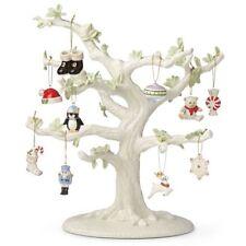 Lenox ~ Set of 12 Ornaments + TREE ~ Christmas Memories ~ NIB