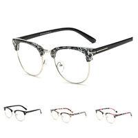 Vintage Mens Retro Clear Lens Glasses Frame Women Eyewear Spectacles Unisex