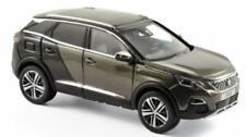 Coches, camiones y furgonetas de automodelismo y aeromodelismo color principal gris Peugeot escala 1:43