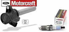 1+ Ignition Coil Motorcraft DG513 2M2Z12029AC & 1+ Motorcraft Spark Plug SP433
