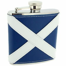 Artamis Scottish 6oz Liquor Whiskey Vodka Leather Coated Pocket Hip Flask Gift