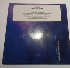 E-Type – True Believer Rare PROMO 10 Mix CD