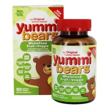 Hero Nutritionals Products - Yummi Bears Children's Wholefood Fruit + Veggie -