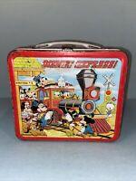Vintage Walt Disney Express! Original Metal Lunch Box 1970s - No Thermos