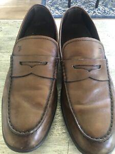 Men's Tan Shoes, Tod's Size 9 us, Size 8 UK.