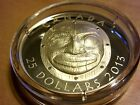 Silver Ultra High Relief Coin - Grandmother Moon Mask - Mintage: 6000 (2013)