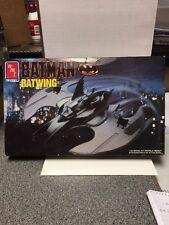 Amt Batman Batwing 1990 Ertl Model New 6970 1/25