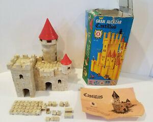 Vintage Gran Alcazar Castillos Building Brick Set 296 Pieces Set 0 Ref.200