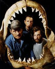 Richard Dreyfuss Robert Shaw Roy Scheider Jaws Shark Skeleten 16x20 Canvas