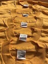 Lot of 5 Vintage 80s Screen Stars Blank Kids Shirt Youth Small 6-8 single stitch