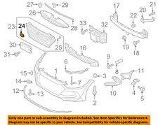 HYUNDAI OEM 17-18 Elantra Front Bumper Grille Grill-Ornament 86320F2100