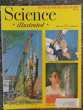 Science Illustrated Magazine April 1948 Crystals Telephone Circuits  VINTAGE ADS