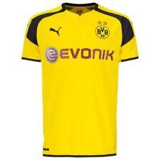 Maillot de football de club étranger jaunes longueur manches manches courtes