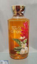 BATH & BODY WORKS WHITE TEA GINGER SHOWER GEL BODY WASH 10 FL.OZ NEW
