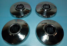 Fiat 124 coupe/spider Fiat 125 Cromodora CD3 CD6 OEM NOS hub caps set of 4