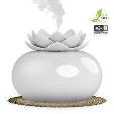 200ML Essential Oil Aroma Diffuser Air Purifier Humidifier Lotus Aromatherapy UK
