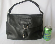 Lightly Used Authentic PRADA Black Leather Handbag!