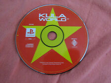 Sony Playstation 1 ps1 Spiel KULA WORLD game Disc Only