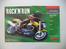 advertising Pubblicità 2000 MOTO GUZZI V11 V 11 SPORT