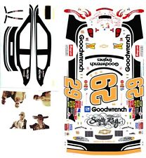 #29 Kevin Harvick Sugar Ray Tribute Chevy 1/64th HO Scale Slot Car Decals