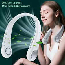 Portable Hanging Neck Fan Neckband USB Rechargeable Mini Fan Air Cooler Electric
