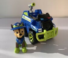 Paw Patrol Jungle Explorer Rescue Chase Pup Figure And Vehicle