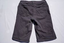 NYDJ Kathleen Black Stretch Denim Casual Walking ShortsBlack, Women's Size 12.