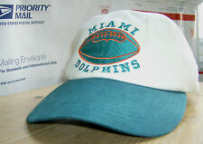 """Miami DOLPHINS Retro STADIUM Fan """"Collectors"""" Cap for the DOLPHINS #1 Fan"""