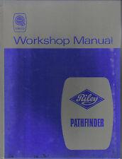 Riley Pathfinder BMC Original Workshop Manual Pub. No. AKD 612 Published 1968