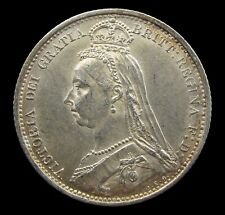 More details for victoria 1887 silver jubilee head sixpence - r/v in victoria - gef