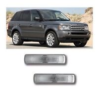 Range Rover Sport/ Land Rover Clear Side Repeaters Indicators 1 pair