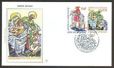 Vatican City Sc# 1513-14, Christmas 2012, First Day Cover