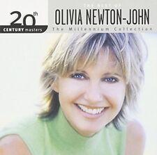 OLIVIA NEWTON-JOHN CD - BEST OF: THE MILLENNIUM COLLECTION (2002) - NEW UNOPENED
