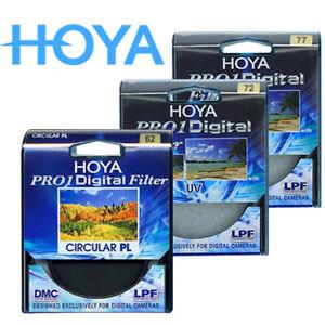 HOYA PRO UV combination Hoya CIR CULAR PL 77-72-62mm Multi-coated filter
