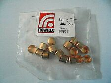 16 x 10mm Copper End Feed Stop End Cap Fittings from Flowflex