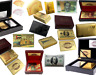 Gold Plated Playing Cards Poker Deck + Wooden Box & 99.9% Certificate 24k Foil