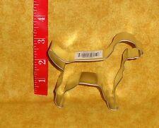 "Labrador Retriever,Dog, Metal Cookie Cutter,Sturdy Metal,Silver,4"",OTBP,Canine"