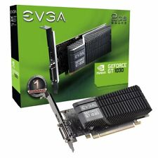 EVGA GeForce GT 1030 SC 2GB Passive Cooling Low Profile Graphics Card - 02G-P4-6